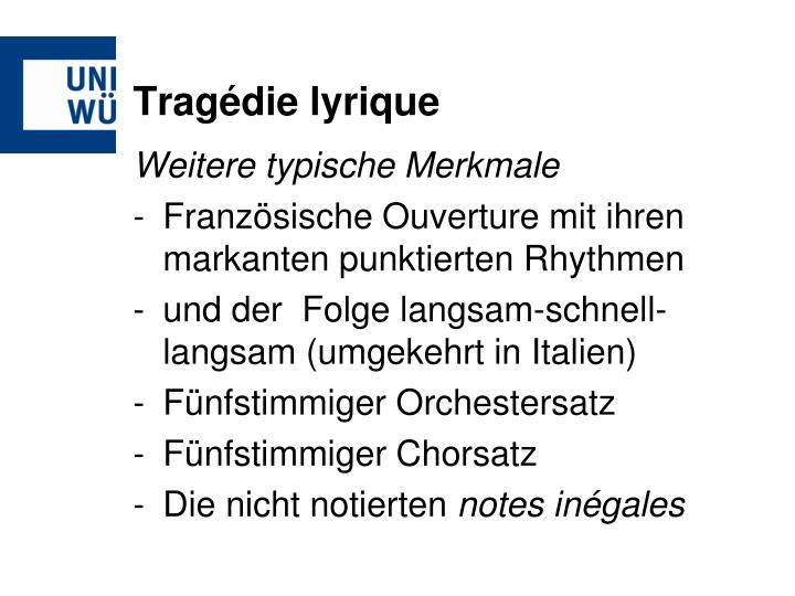 Tragédie lyrique