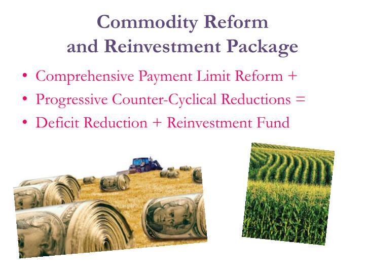 Commodity Reform