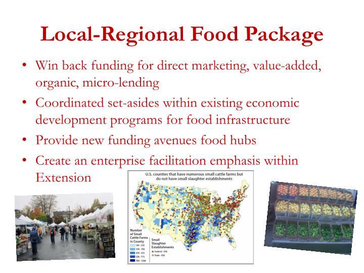Local-Regional Food Package