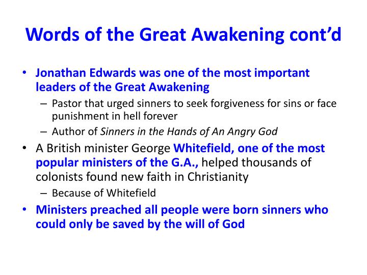 a comparison of two sermons in sinners in the hands of an angry god and a message from hell 341 quotes from jonathan edwards: 'god is the highest good of the reasonable creature  ― jonathan edwards, the sermons of  sinners in the hands of an angry.