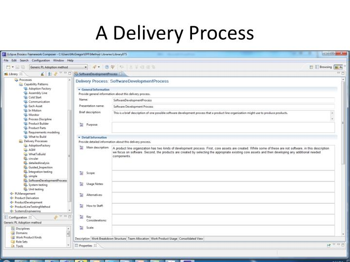 A Delivery Process