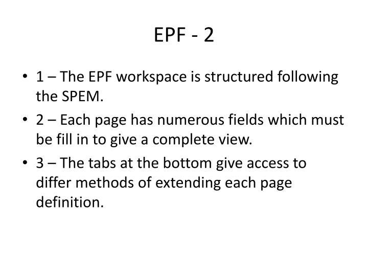 EPF - 2