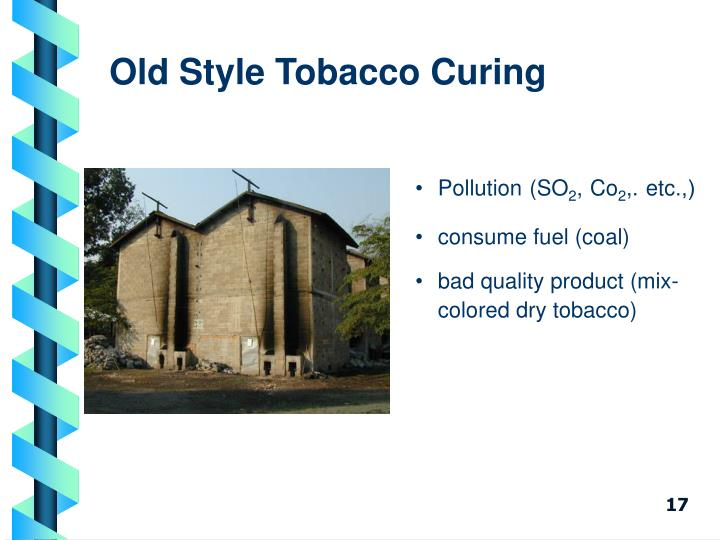 Old Style Tobacco Curing