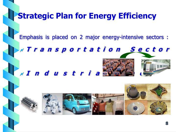 Strategic Plan for Energy Efficiency