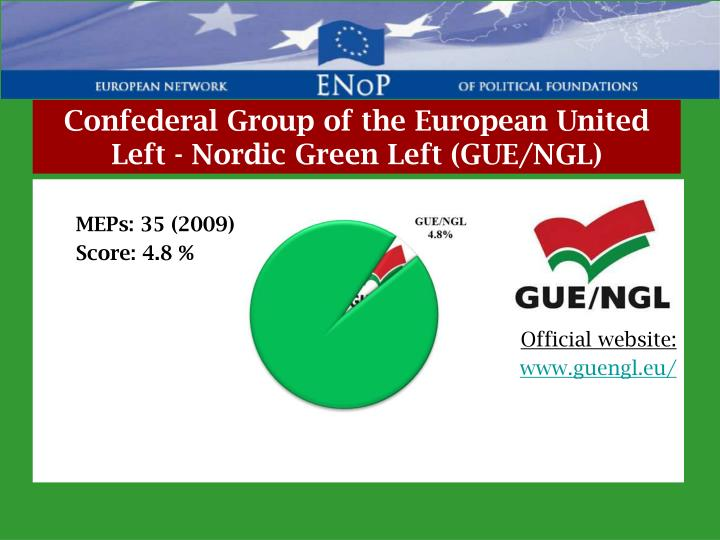 Confederal Group of the European United Left - Nordic Green Left (GUE/NGL)