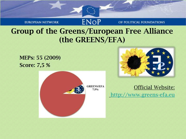 Group of the Greens/European Free Alliance