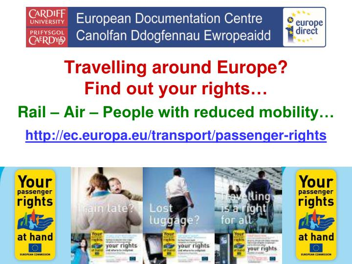 Travelling around Europe?