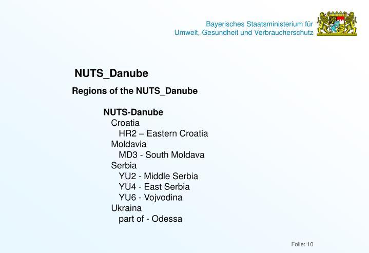 NUTS_Danube