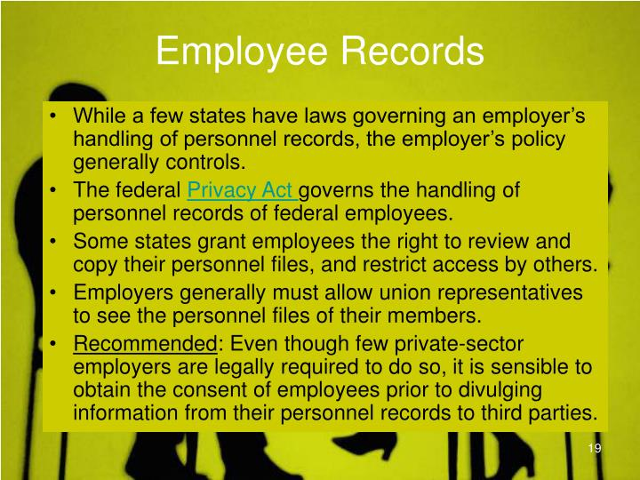 Employee Records