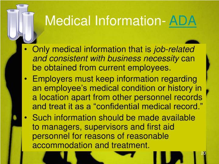 Medical Information-