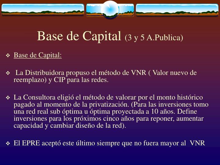 Base de Capital