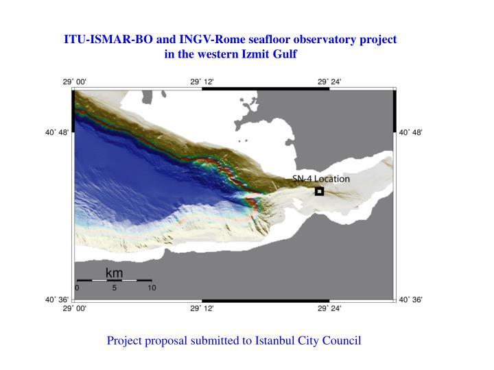 ITU-ISMAR-BO and INGV-Rome seafloor observatory project