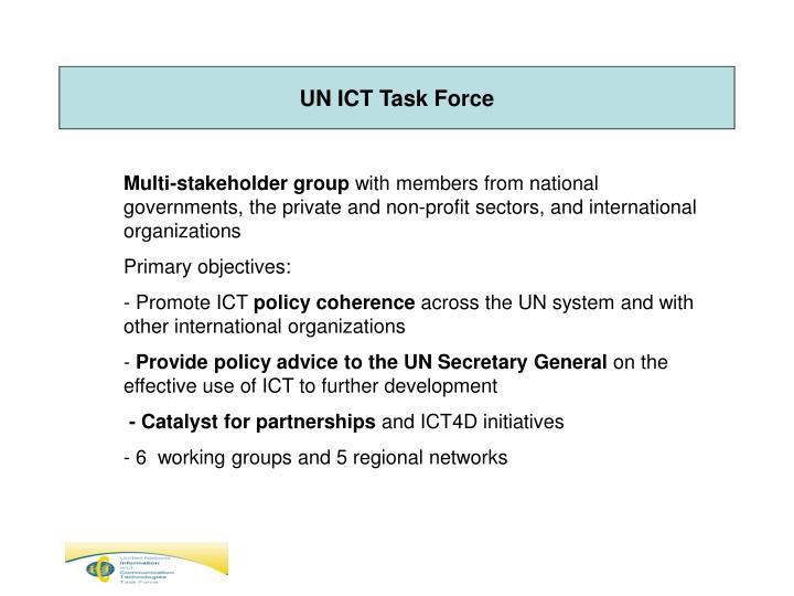 UN ICT Task Force