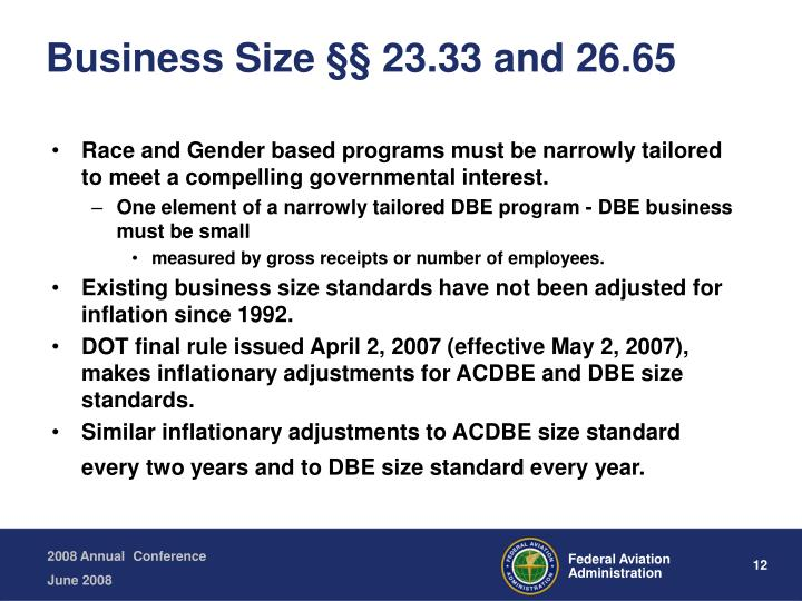 Business Size