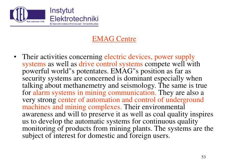 EMAG Centre