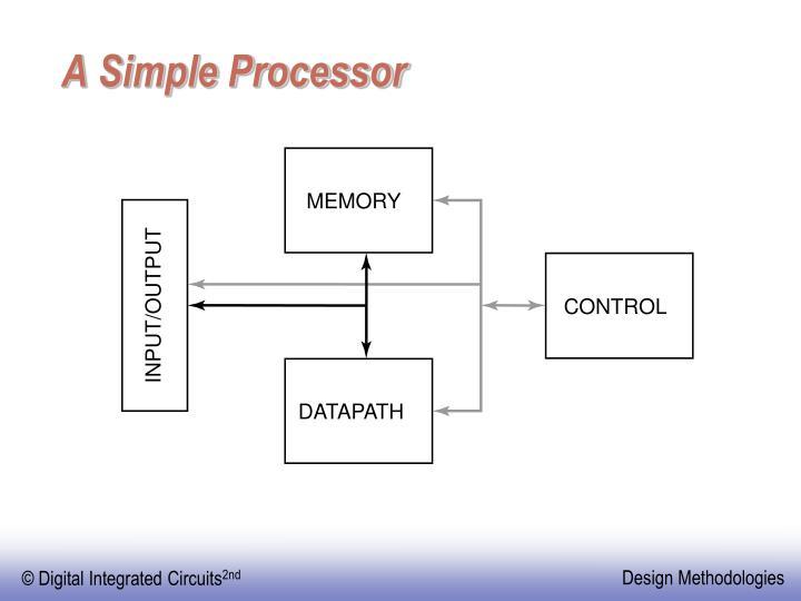 A Simple Processor