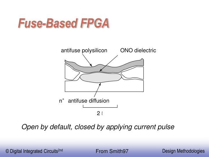 Fuse-Based FPGA