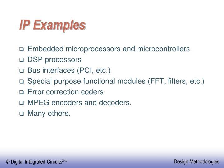 IP Examples