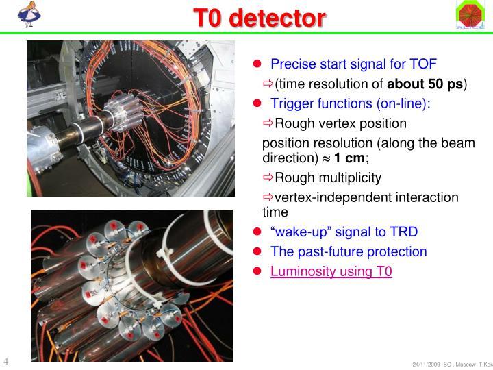 T0 detector