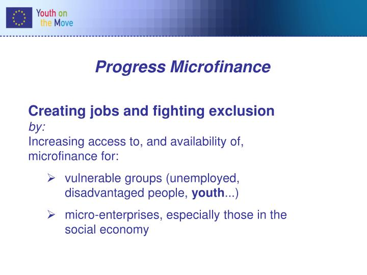 Progress Microfinance