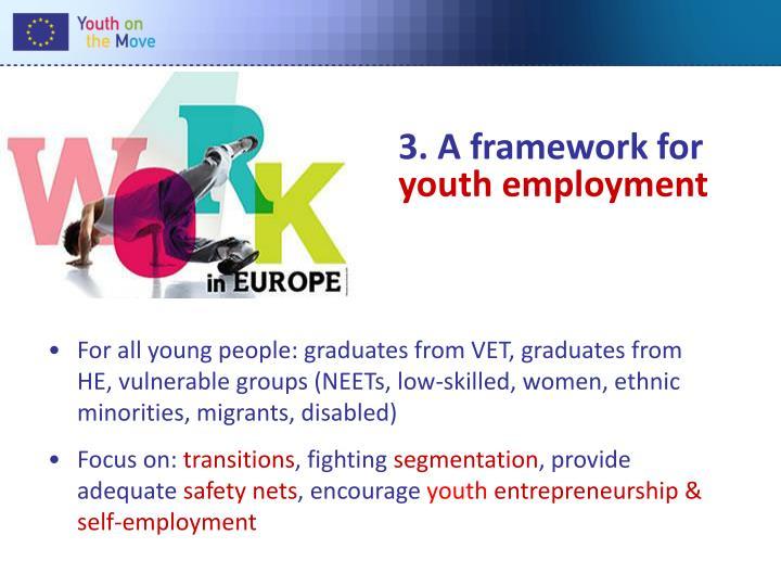 3. A framework for