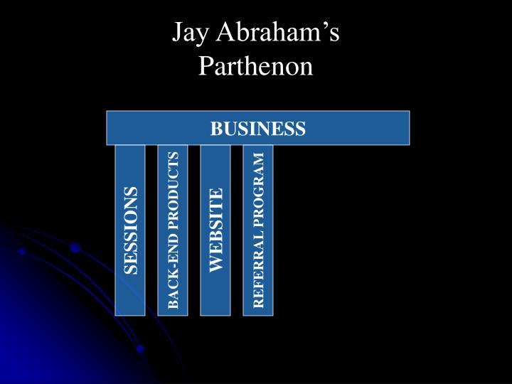 Jay Abraham's