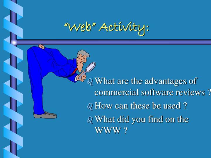 """Web"" Activity:"