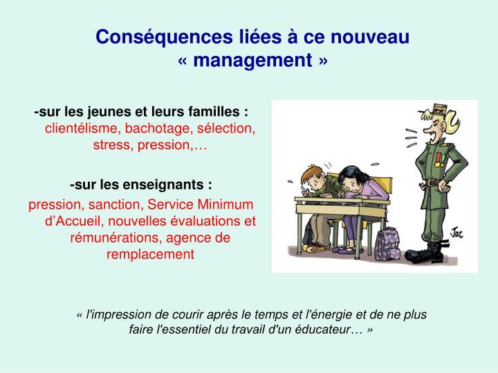 -sur les jeunes et leurs familles :