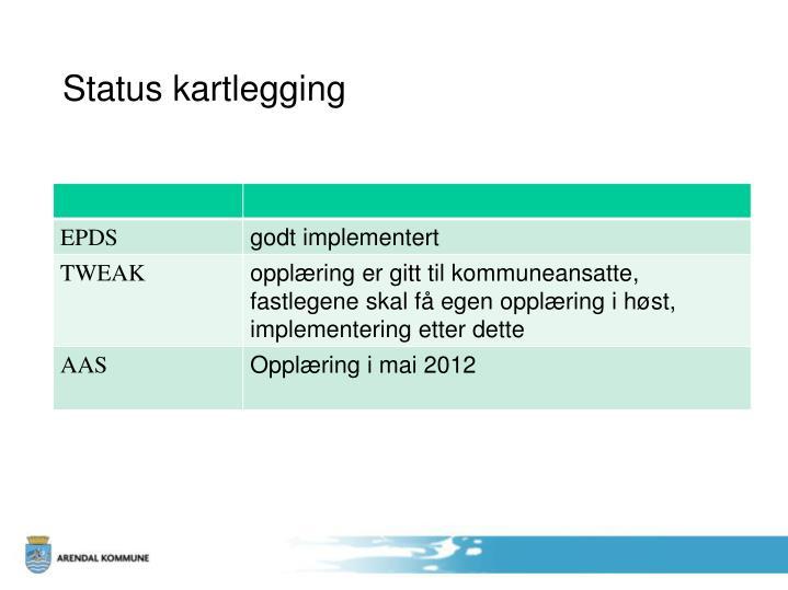 Status kartlegging