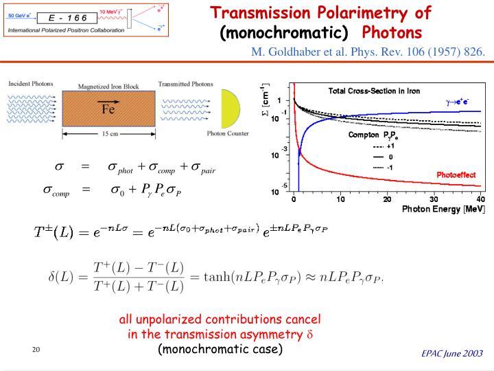 M. Goldhaber et al. Phys. Rev. 106 (1957) 826.