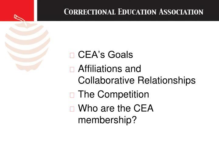 CEA's Goals
