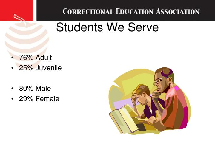 Students We Serve