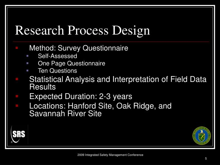 Research Process Design