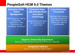 peoplesoft hcm 9 0 themes