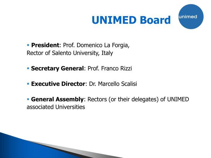 UNIMED Board