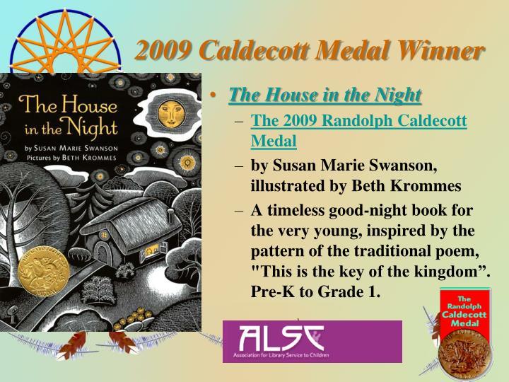 2009 Caldecott Medal Winner