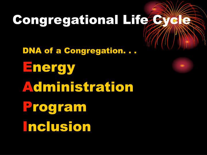 Congregational Life Cycle