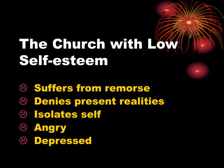 The Church with Low Self-esteem
