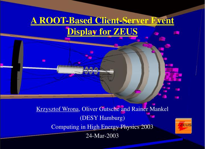 A ROOT-Based Client-Server Event Display for ZEUS