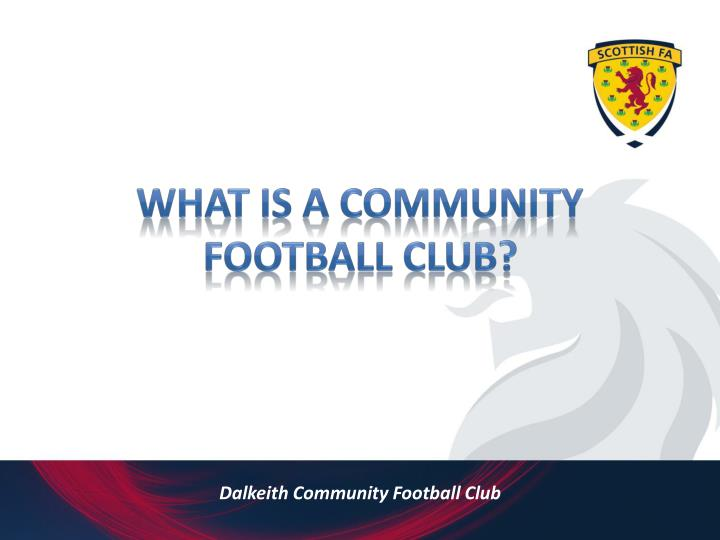 Dalkeith community football club2