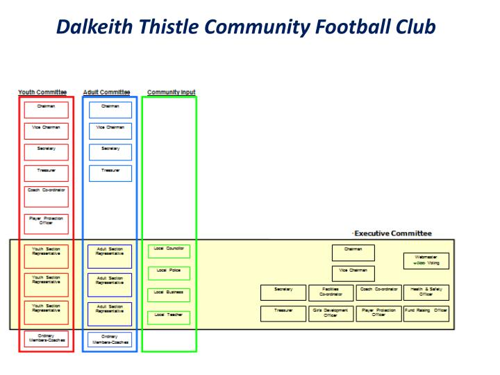 Dalkeith Thistle Community Football Club