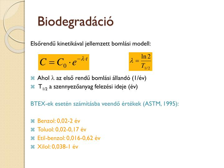 Biodegradáció