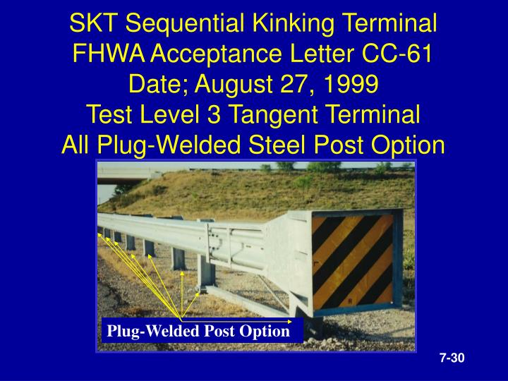 SKT Sequential Kinking Terminal
