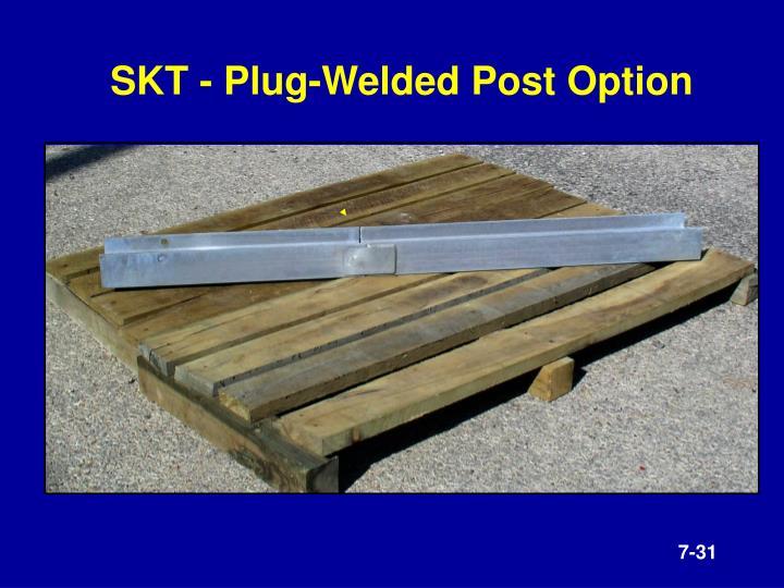 SKT - Plug-Welded Post Option