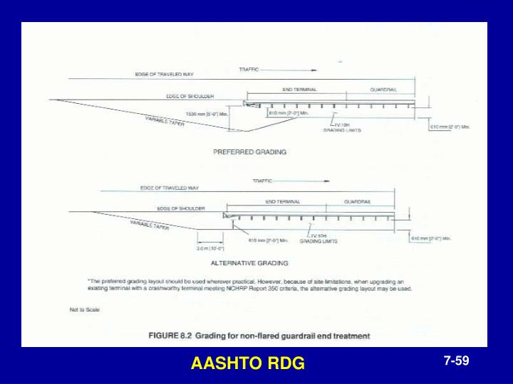 AASHTO RDG