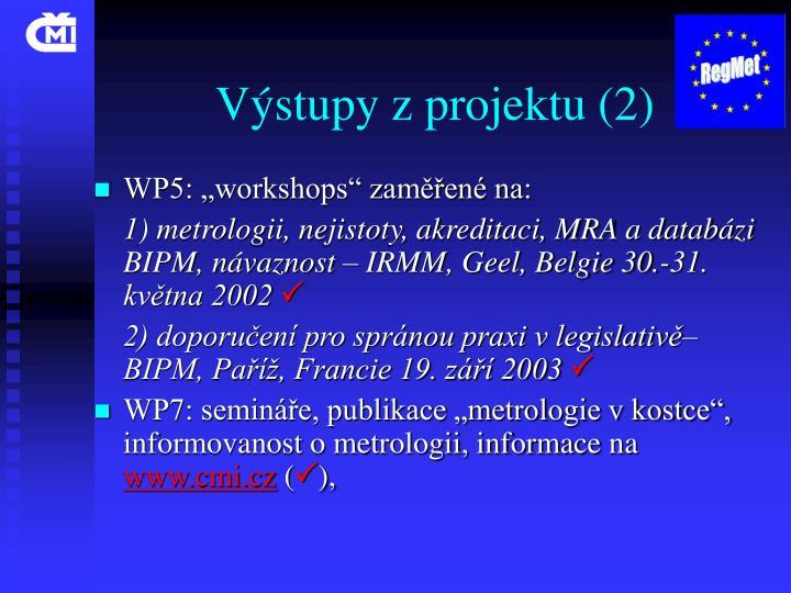 Výstupy z projektu (2)