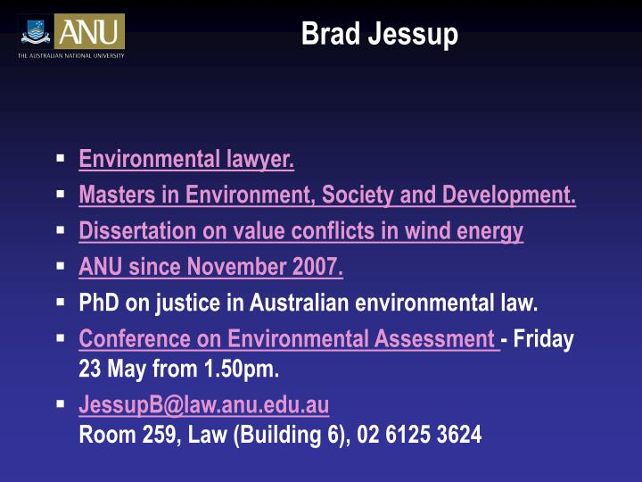 Brad Jessup