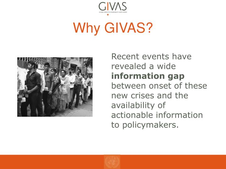 Why GIVAS?