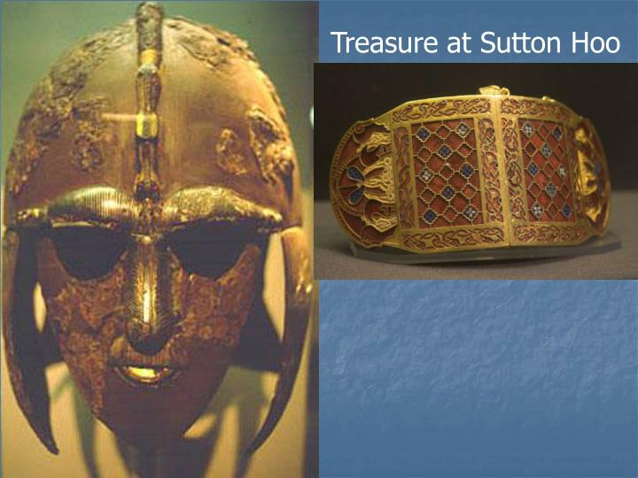 Treasure at Sutton Hoo