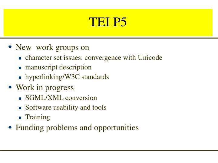 TEI P5